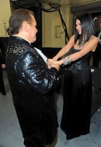 Juan Gabriel e Laura Pausini